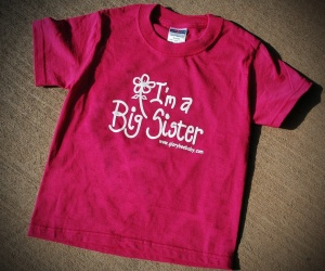 Big Sister Hot Pink TShirt with Flower_edited-1